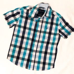 Boy's Nautica Button Down Dress Shirt